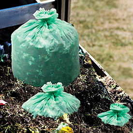 Stout® Biodegradable & Compostable Trash Bags