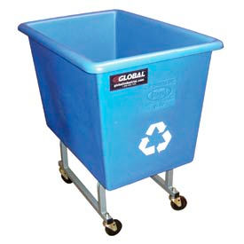 Elevated Poly Recycling Trucks
