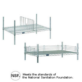 Wire Shelving Ledges & Dividers