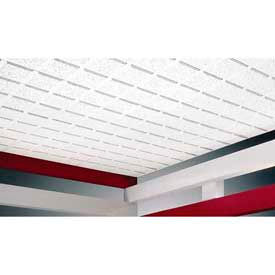 Mineral Ceiling Tiles & Grid Framing