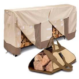 Log Rack Covers