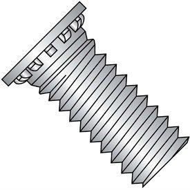 Self Clinching Stud 12 Rib Full Thread 300 Series Stainless Steel