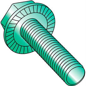 Serrated Hex Flanged Washer Indented Undercut Screws