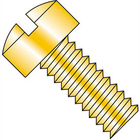 Slotted Fillister Head Machine Screws