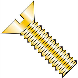 Slotted Flat Head Machine Screws