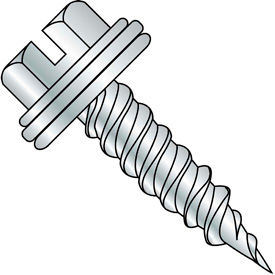 Slotted Indented Hex Washer Self Piercing Screw