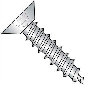 Square Flat Undercut Head Self Tapping/Sheet Metal Screws Type AB Thread