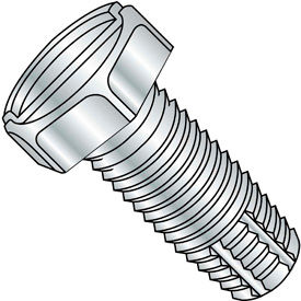 Slotted Indented Hex Thread Cutting Screws
