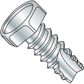 Unslotted Indented Hex Thread Cutting Screws Type 25 Thread