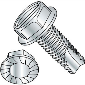 Slotted Indented Hex Washer Type 23 Thread Cutting Screws
