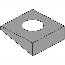 Square Beveled Washers
