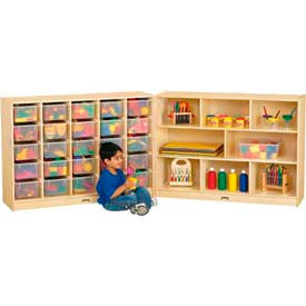 Mobile Double-Fold Cubby Storage Units