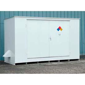 Denios Non-Combustible Hazmat Outdoor Storage Buildings
