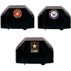 Holland Bar Stool Military Logo Grill Covers