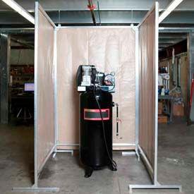 Goff's Air Compressor Sound Screens