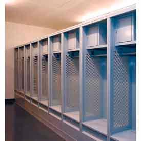 Penco Fully Framed Stadium® Locker with Top Security Box and Footlocker