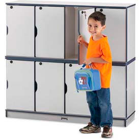 Daycare & Preschool Stackable Lockers – Lockable