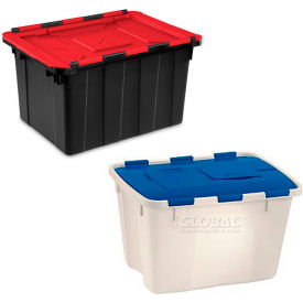 Flip Top Attached Lid Storage Containers