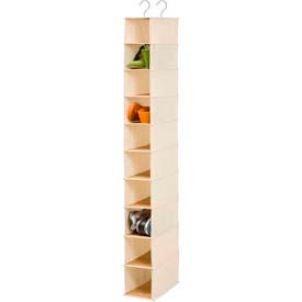 Shelf Hanging Vertical Closet Shoe Organizers