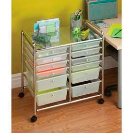 Plastic Organized Drawer Carts