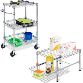 Metal Shelving and Storage Stands