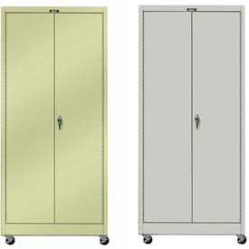 Hallowell Solid Door Mobile Storage Cabinets