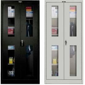 Hallowell Ventilated Door Combination Cabinets