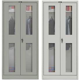 Hallowell Ventilated Door Wardrobe Cabinets