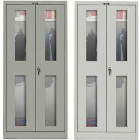 Hallowell Safety-View Door Wardrobe Cabinets