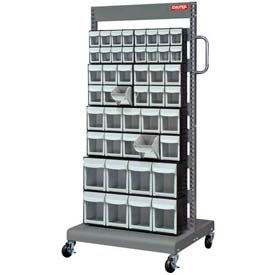 Shuter Flip Out Bin Two-Sided Mobile Carts