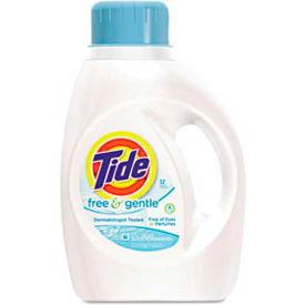 Tide® Free & Gentle 2X Ultra Laundry Detergent, 50 Oz. Bottle 6/Case - PAG13885