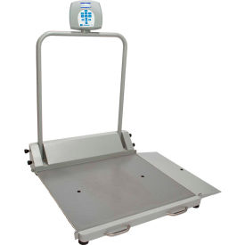 Health O Meter 2600KL Digital Wheelchair Ramp Scale 1000 x 0.2lb/454 x 0.1kg, Portable by