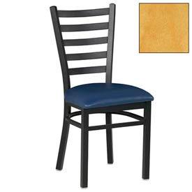 "5 Slat-Back Chair 17-1/2""W X 16-1/2""D X 36""H - Natural - Pkg Qty 2"