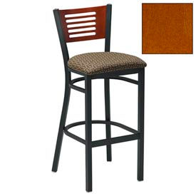"Cherry 5 Slat-Back Bar Stool 17-1/2""W X 17""D X 42""H Package Count 2 by"