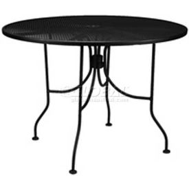"""Premier Hospitality Furniture 30"""" Round Table Black With Butterfly Legs"""