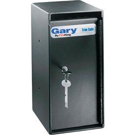 "FireKing® MS1206 Gary® Trim Safe, 6""W x 7""D x 12""H, Elec. Lock, 0.2 Cu. Ft."