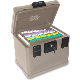 "FireKing® SS106 SureSeal Fire & Waterproof Document Chest, 16""W x 12-1/2""D x 13""H, 0.6 Cu. Ft."