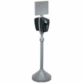 PolyJohn® Sanitizer Dispenser Stand With One Mechanical Dispensr - MSN01-1100