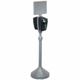 PolyJohn® Sanitizer Dispenser Stand With One Mechanical Dispensr - MSN01-1100