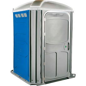 PolyJohn® Comfort XL™ Wheel Chair Accessible Portable Restroom Blue - PH03-1001