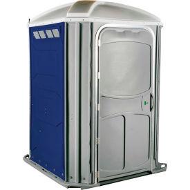 PolyJohn® Comfort Inn™ Wheel Chair Accessible Portable Restroom Dark Blue - PH03-1016