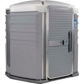 PolyJohn® We'll Care™ ADA Compliant Portable Restroom Pewter - SA1-1005