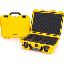 "Nanuk 920 Waterproof DJI MAVIC Hard Case 920-MAV4 w/ Foam 16-11/16""L x 13-3/8""W x 6-13/16""H Yellow"