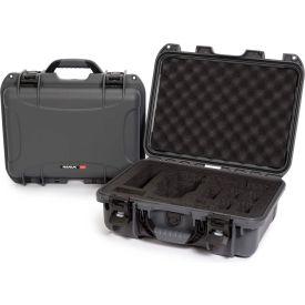 "Nanuk 920 Waterproof DJI MAVIC Hard Case 920-MAV7 w/ Foam 16-11/16""L x 13-3/8""W x 6-13/16""H Graphite"