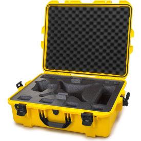 "Nanuk 945 Waterproof DJI Phantom 4 Hard Case 945-DJI44 w/Foam 25-1/8""L x 19-7/8""W x 8-13/16""H Yellow"