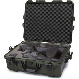 """Nanuk 945 Waterproof DJI Phantom 4 Hard Case 945-DJI46 w/ Foam 25-1/8""""L x 19-7/8""""W x 8-13/16""""H Olive"""