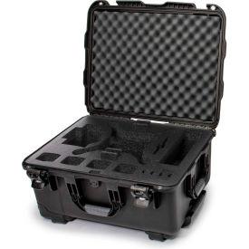 """Nanuk 950 Waterproof DJI Phantom 4 Hard Case 950-DJI41 w/ Foam 22-13/16""""Lx18-5/16""""Wx11-11/16""""H Black"""
