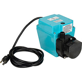 Little Giant 503103 3E-12N Small Submersible Pump - Dual Purpose- 115V- 500 GPH At 1'