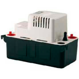 Little Giant® Condensate Removal Pump VCMA-20ULST, Automatic, 115V, 80 GPH At 1', 20' Lift