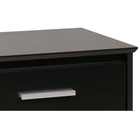 Prepac Manufacturing Black Coal Harbor 6 Drawer Dresser